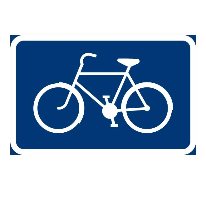 ROUTE FOR BICYCLES.