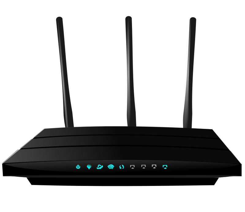 Router Clipart.