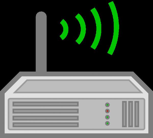 Pocket WiFi Router Clip Art.