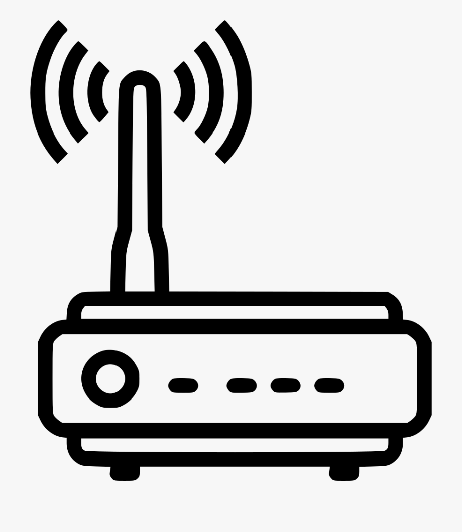Internet Clipart Router Wifi.