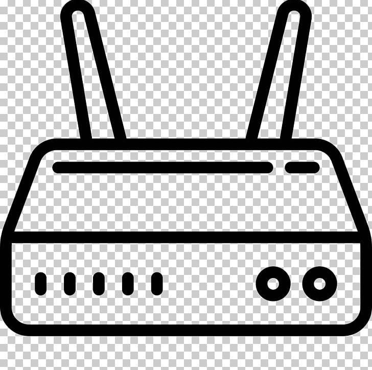 Wireless Router Computer Icons PNG, Clipart, Black And White.