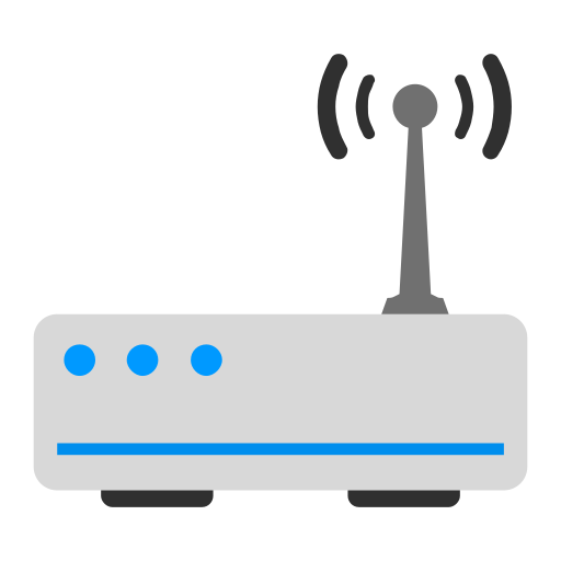 Router, flat Icon Free of SnipIcons Flat.