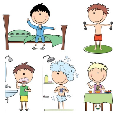 Free Morning Routine, Download Free Clip Art, Free Clip Art.
