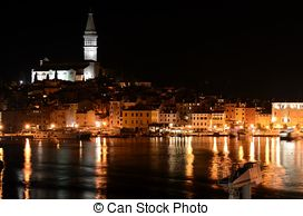 Stock Photographs of architecture of Rovinj, Croatia. Istria.