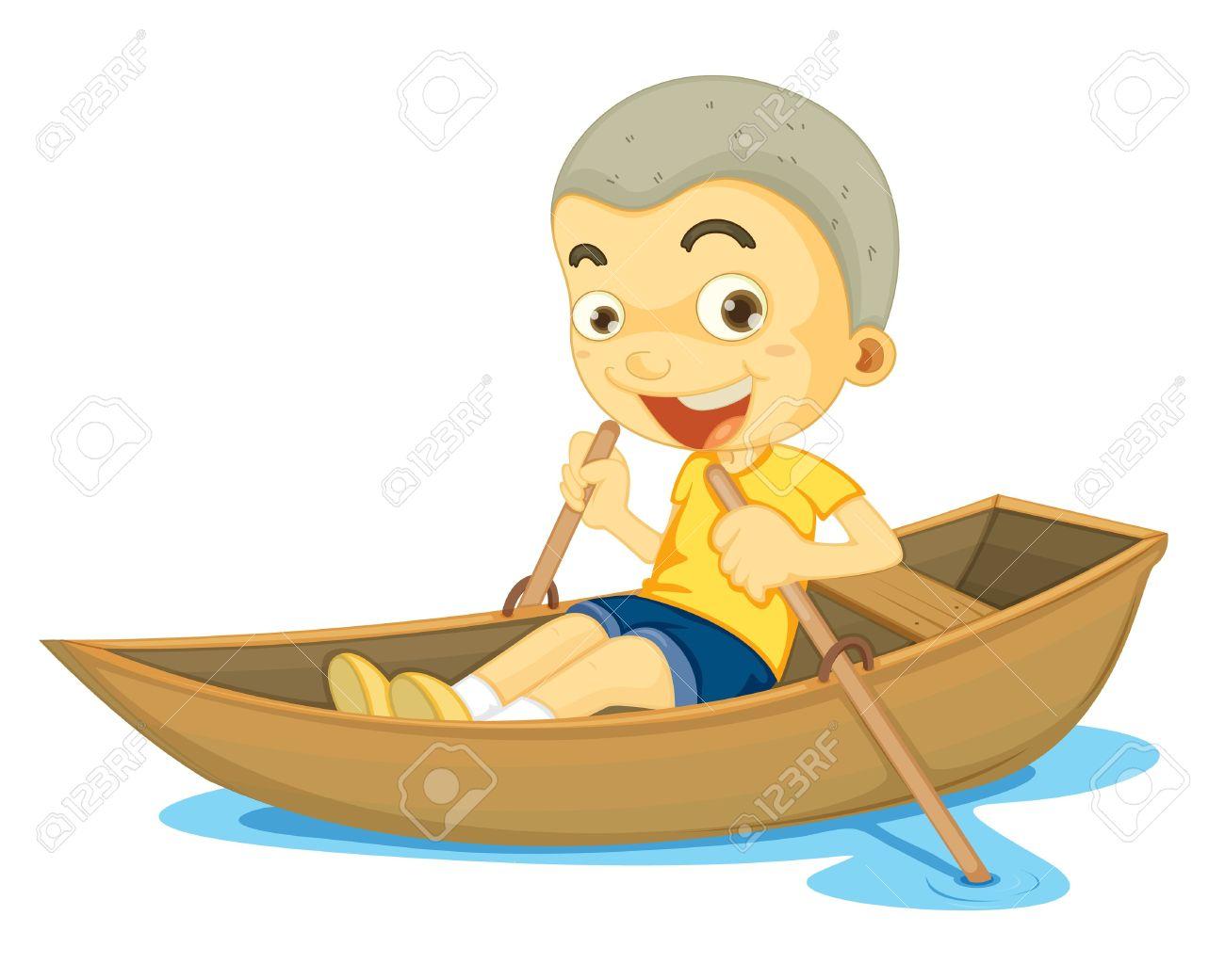 Small Row Boats Clip Art, ., Row Boat Free Clipart.