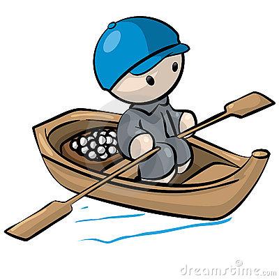 Row Boat Clipart.