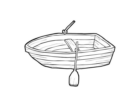 3491 Boat free clipart.