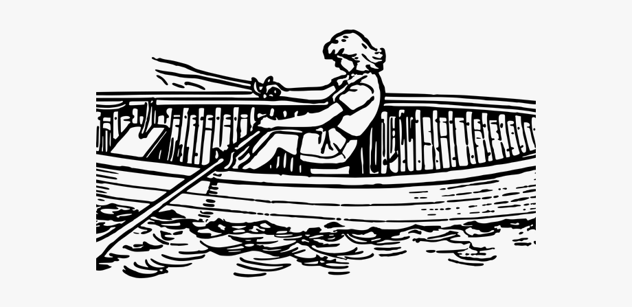 Row Boat Clipart Child.