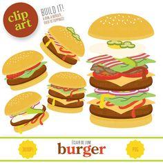 Cartoon Cooking: Mi ♥ hamburguesa.