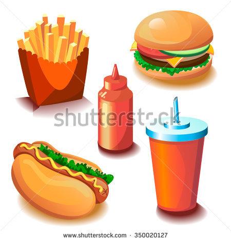 Tasty Vector Ingredients Make Custom Burger Stock Vector 305123147.