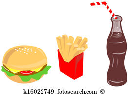 Burger fries Illustrations and Clipart. 541 burger fries royalty.