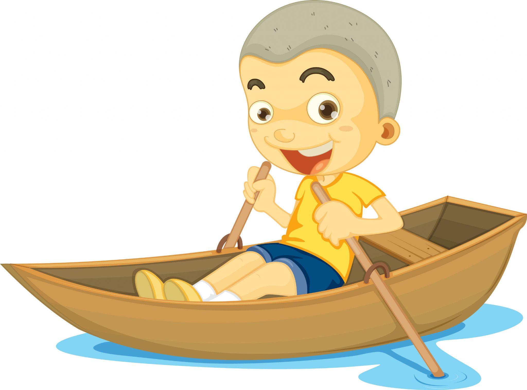 Row row row your boat clipart.