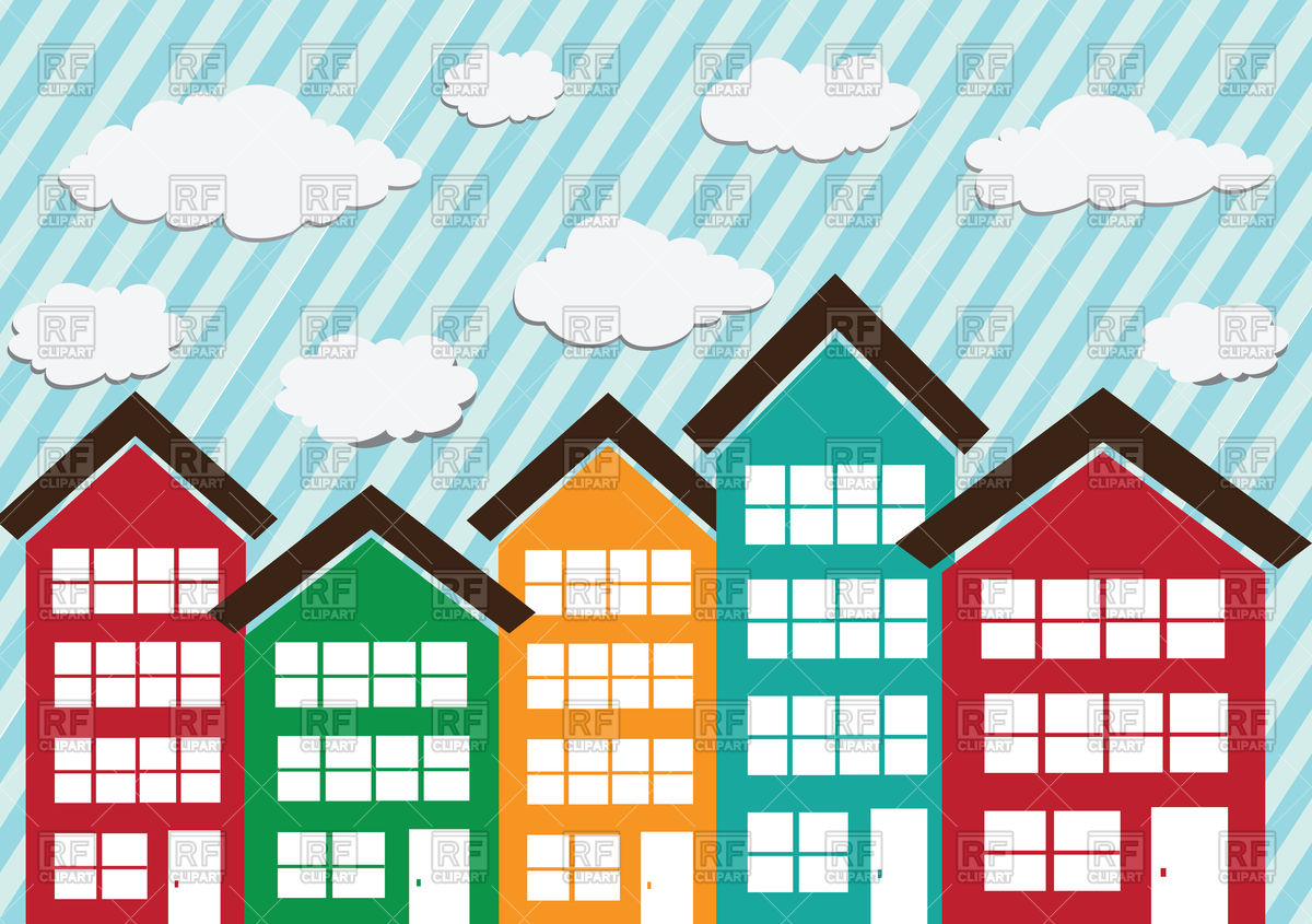 Row of buildings clipart 20 free Cliparts   Download ...