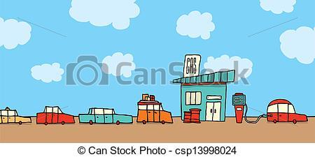 Row Of Car Clipart.
