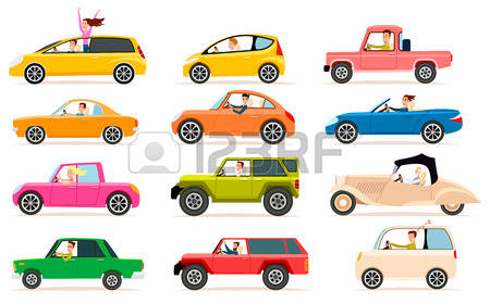 1,066 Row Of Cars Stock Illustrations, Cliparts And Royalty Free.