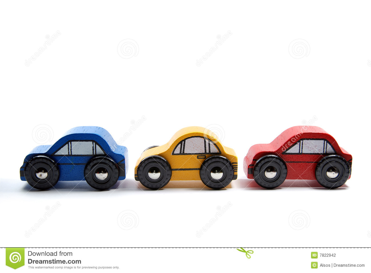 Wooden Toy Car Clipart.