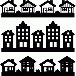 Silhouette House Free Download Clip Art.