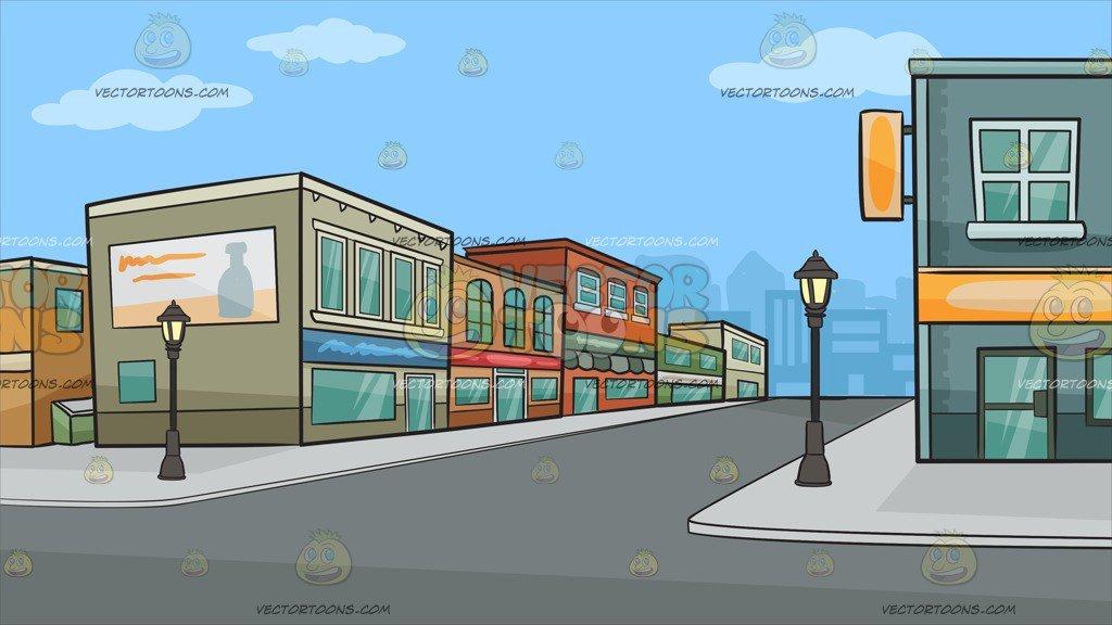 Row of shops clipart 1 » Clipart Portal.