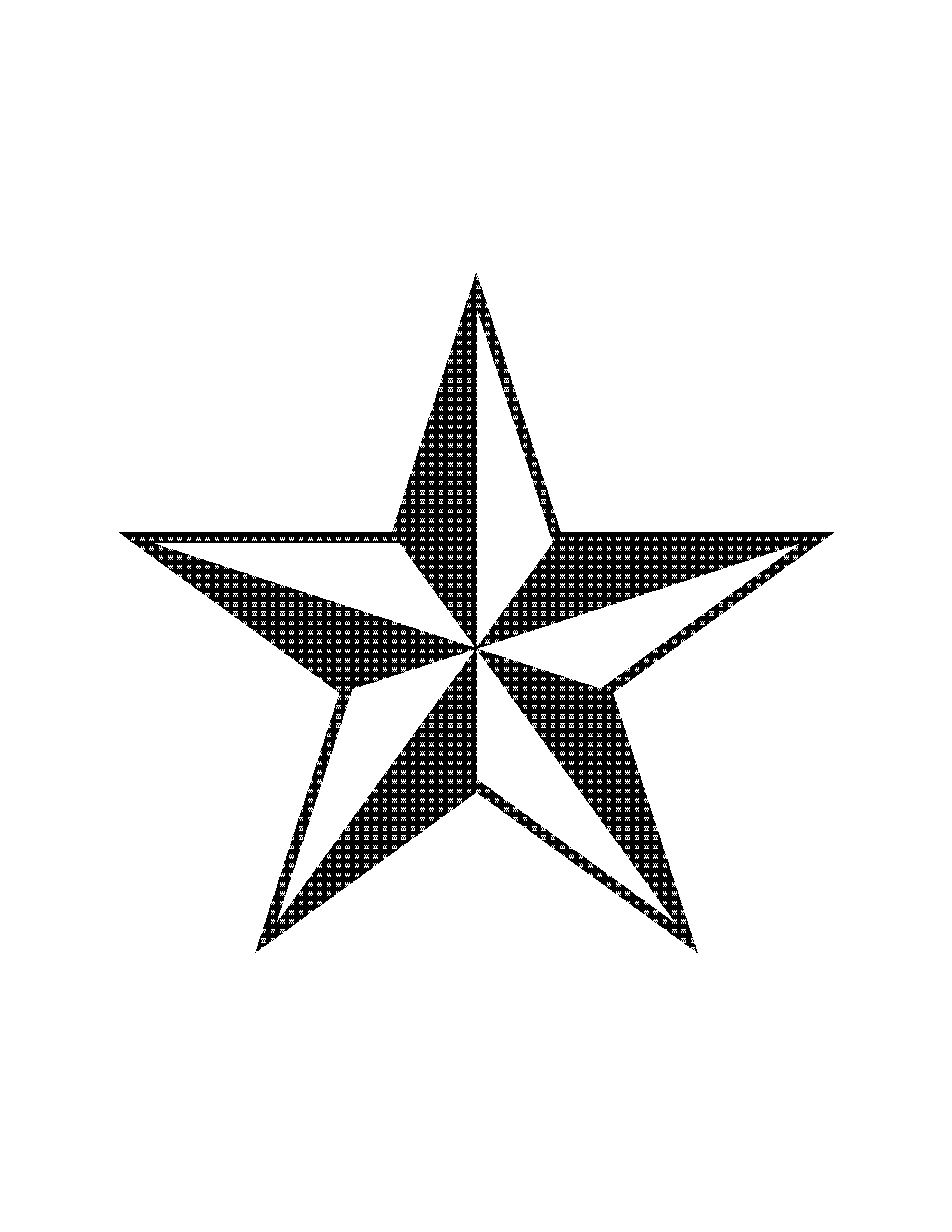 Row Of Stars Clipart.