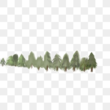 A Row Of Trees PNG Images.