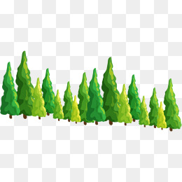 Line Of Pine Tree Png & Free Line Of Pine Tree.png.