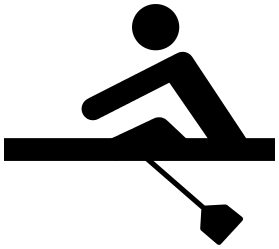 Rowing Clipart.