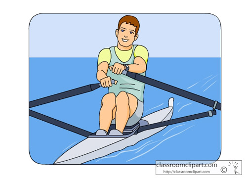 Rowing clipart free.
