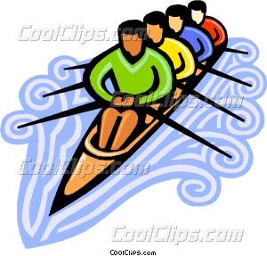 rowers Vector Clip art.