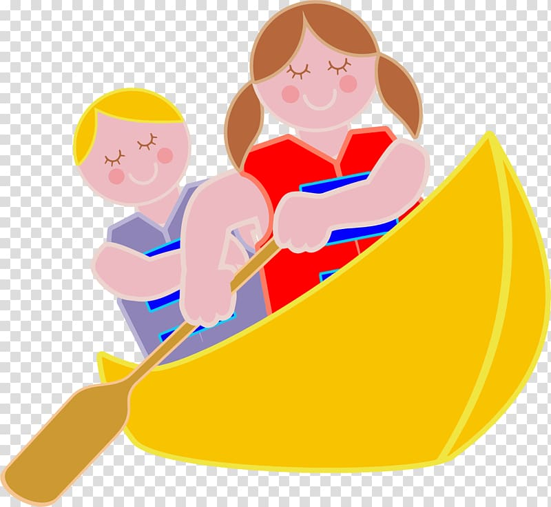 Canoe Rowing Boat , Canoe transparent background PNG clipart.