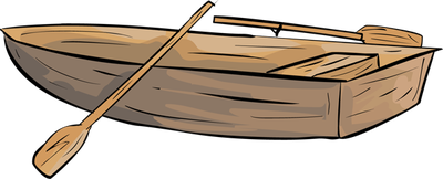 Rowing Boats Clipart.