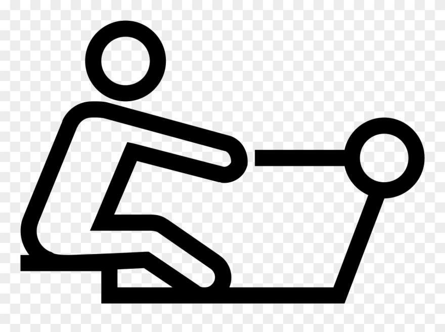 Rowing Machine Icon Clipart (#1558888).