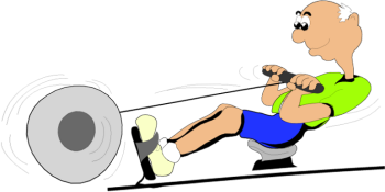 Rowing Machine Clip Art \