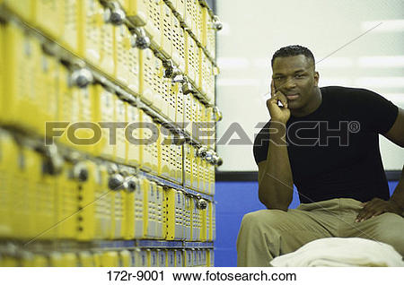 Stock Photography of rows, people, bench, sitting, room 172r.