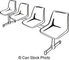Row chairs Vector Clipart Illustrations. 464 Row chairs clip art.