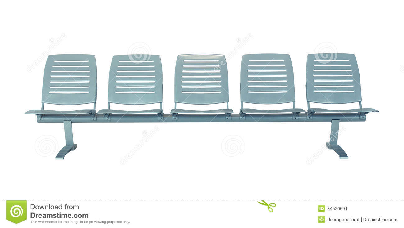 Rows of chairs clipart.