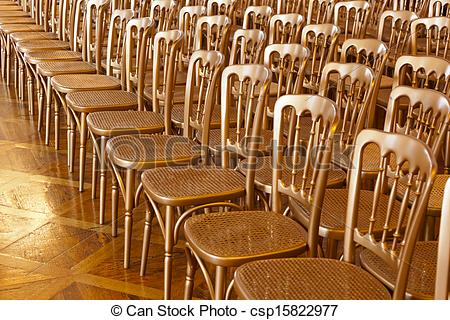 Picture of Rows of chairs.
