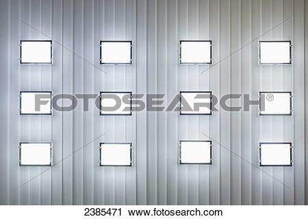 Stock Photography of A wall with three rows of windows; Locarno.