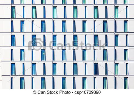 Stock Photographs of facade of skyscraper with windows structured.