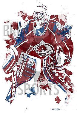 Patrick Roy Clip Art.