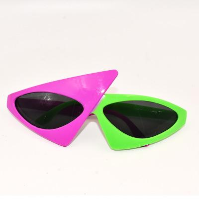 2018 Kids Novelty Glasses Green Pink Contrast Funny Roy Purdy Glasses  Hip.