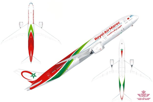 Royal Air Maroc to unveil a new Boeing MAX and 787.