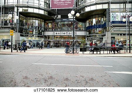 Stock Image of Northern Ireland, Belfast, Royal Avenue , Exterior.