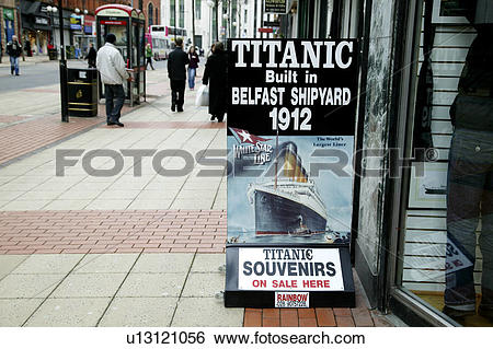 Stock Images of Northern Ireland, Belfast, Royal Avenue , A.