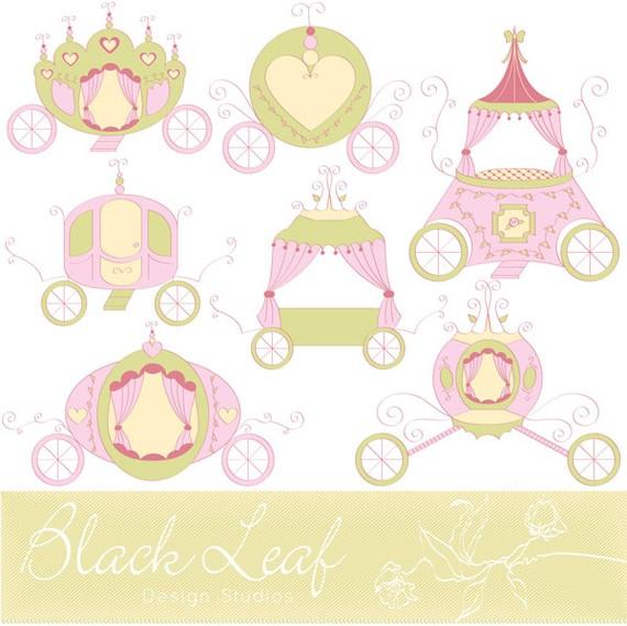 Princess Baby Girl Clipart.