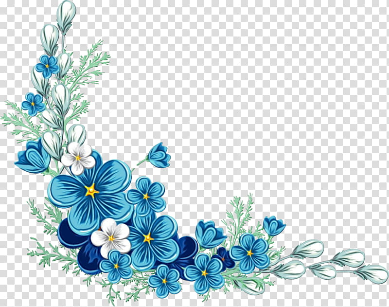 Floral Flower, Floral Design, Blue, Floristry, Royal Blue.