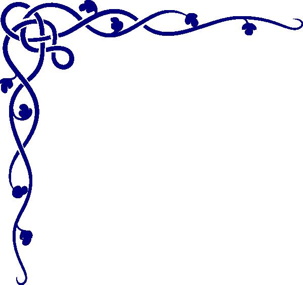 Royal Blue Flower Clipart.