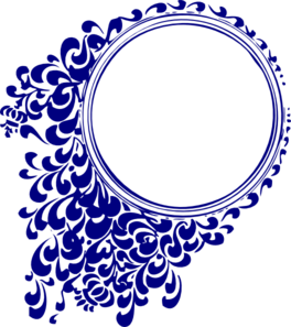Royal Blue Heart Clipart.