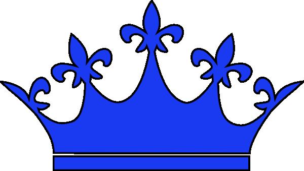 Queen Crown Royal Blue PNG, SVG Clip art for Web.