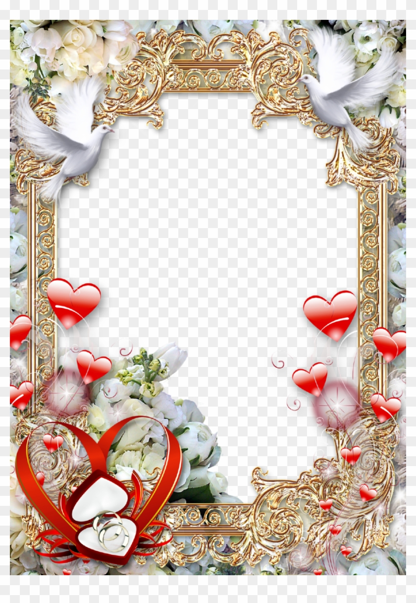 Free Png Download Wedding Photo Frame Png Images Background.
