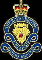 The Royal British Legion Riders Branch.